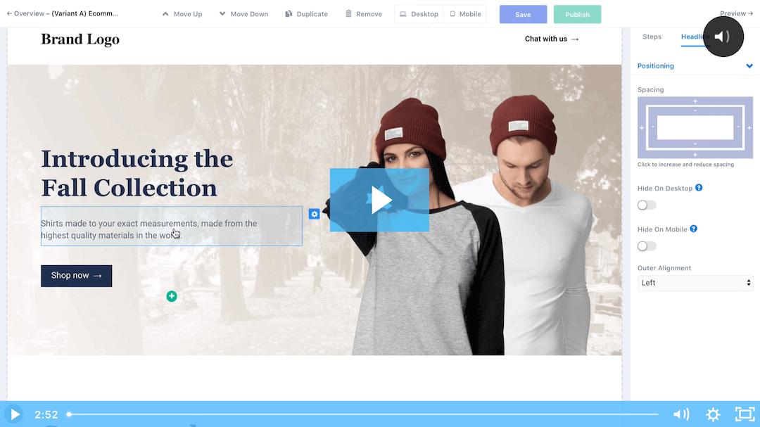Website Conversion Platform Video